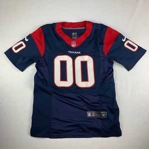 Nike Houston Texans Stitched Jersey Red On Field